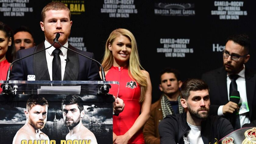 Canelo Alvarez v Rocky Fielding - Press Conference