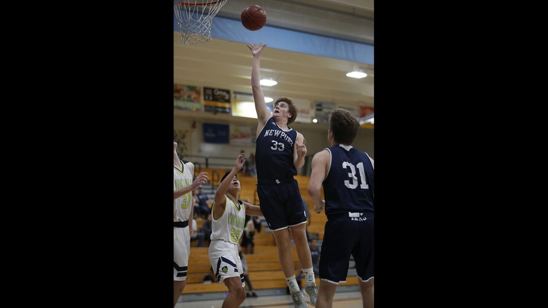 Photo Gallery: Newport Harbor vs. Marina in boys' basketball