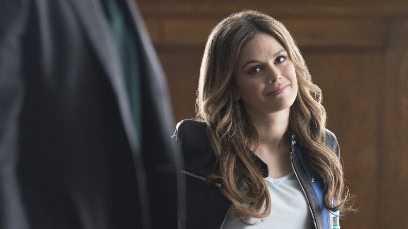 """Rachel Bilson in a new episode of the mystery series """"Take Two"""" on ABC."""