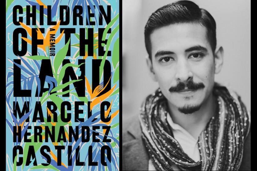 """Marcelo Hernandez Castillo, author of """"Children of the Land."""""""