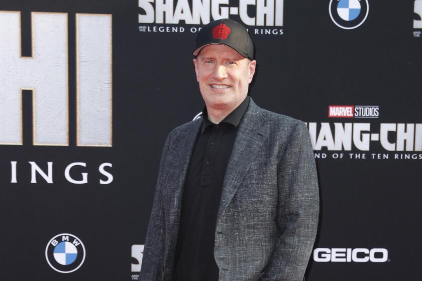 El president de Marvel Studios Kevin Feige en la premier de'Shang-Chi and the Legend of the Ten Rings'