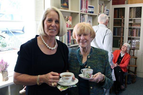 Guild board members Kathy Stumm and Nancy Miller