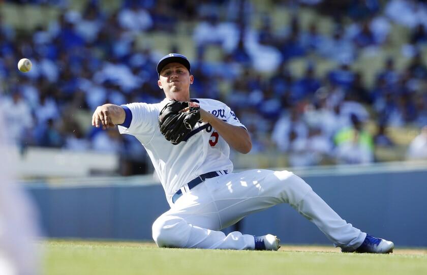 Los Angeles Dodgers Shortstop Corey Seager