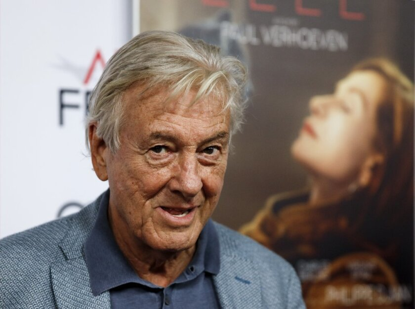 "Paul Verhoeven, director of ""Elle."""
