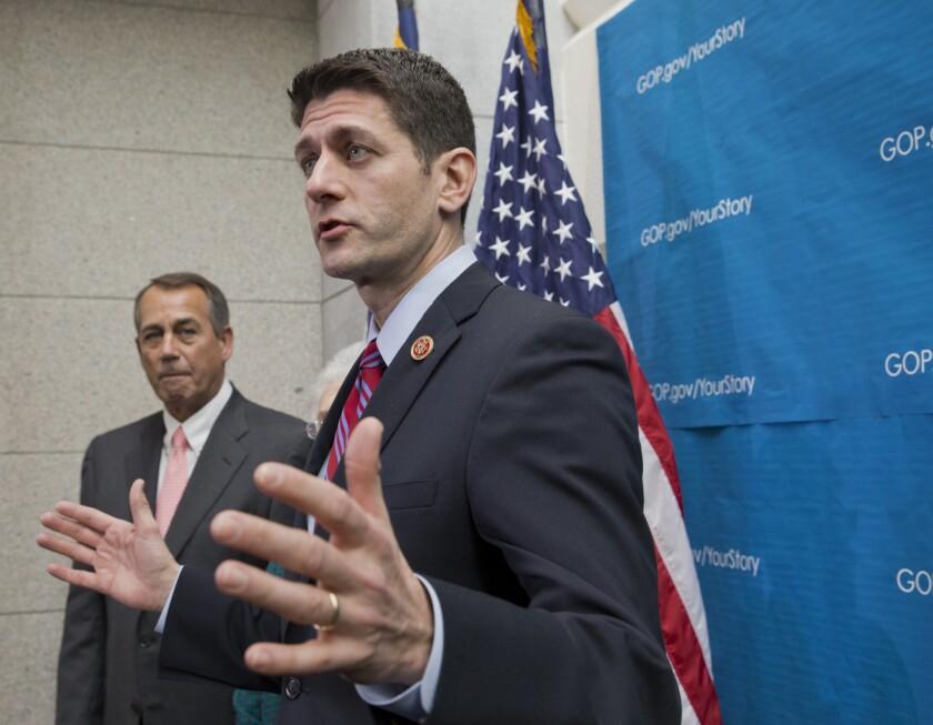 John Boehner, Paul Ryan