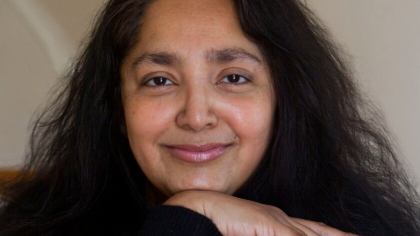 "An author photo of Chaya Bhuvaneswar for her novel ""White Dancing Elephants."" Credit: Aynsley Floyd"