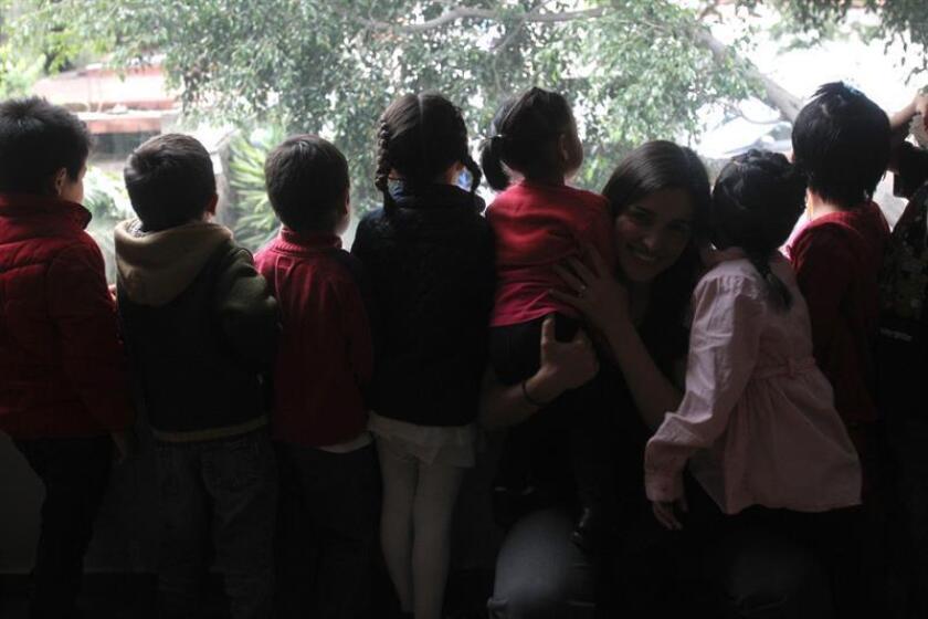 Fotografía de varios niños. EFE/Archivo