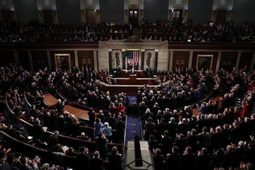 El Senado aprobó hoy una medida presupuestaria de 146.000 millones de dólares para dotar de fondos al Departamento de Energía y programas para excombatientes durante el próximo año fiscal. EFE/ARCHIVO