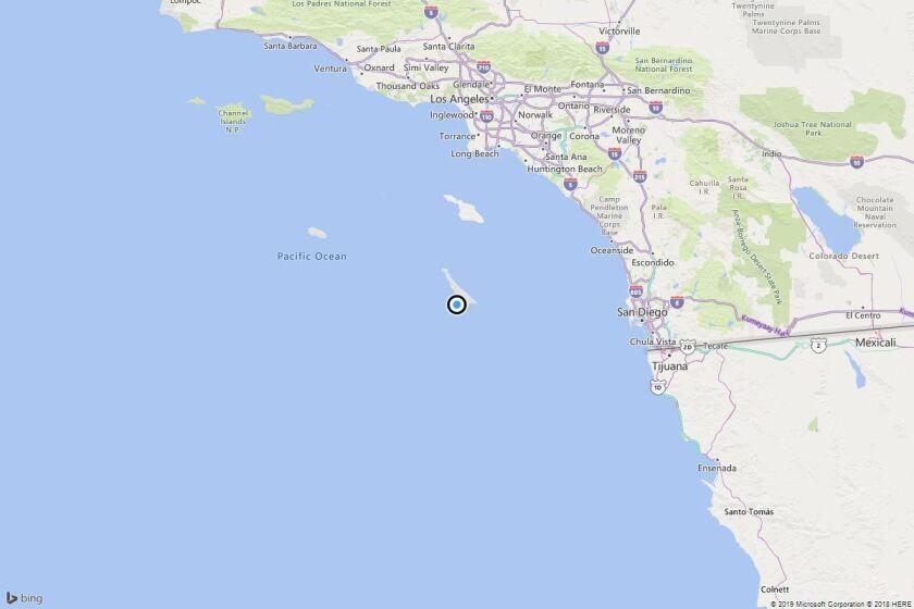 Earthquake: 3.3 quake strikes near Avalon, Calif.