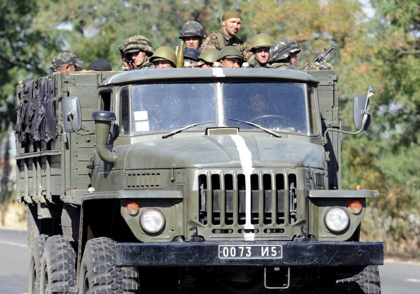 Ukraine servicemen