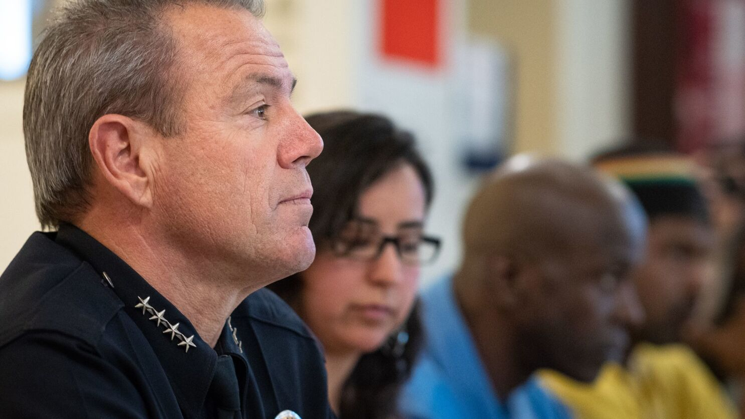 LAPD chief promises public report on use of informant against anti-Trump protesters