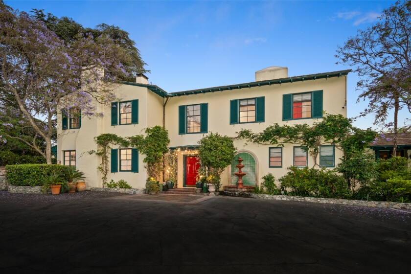 The 6.5-acre spread includes a main home, guesthouse and apartment that combine for nine bedrooms across 10,200 square feet.