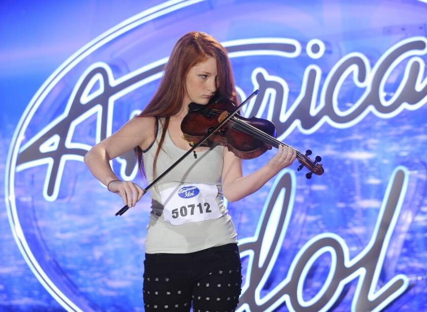 Amelia Eisenhauer auditions on 'American Idol.'