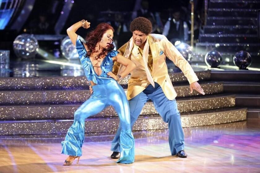 'Dancing With the Stars': Sharna Burgess, Tavis Smiley