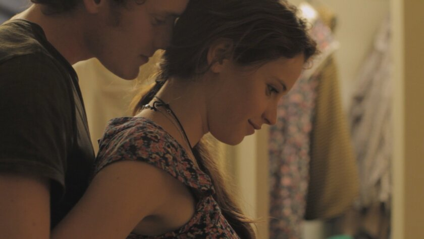 "Anton Yelchin plays Jacob and Felicity Jones plays Anna in ""Like Crazy."" Photography by: Fred Hayes."