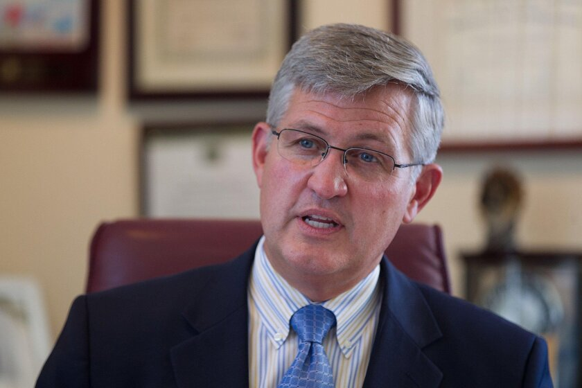 Supervisor Dave Roberts of District 3 answers questions regarding the controversy inside his office. After an investigation, the District Attorney's Office decided to not press criminal charges against Roberts.