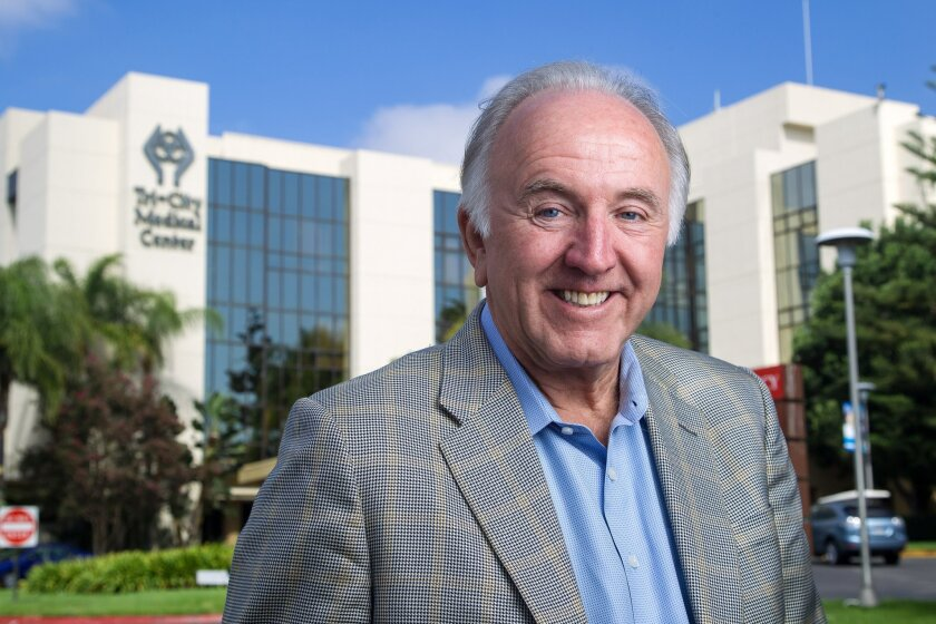 Tri-City Medical Center chief executive Tim Moran.