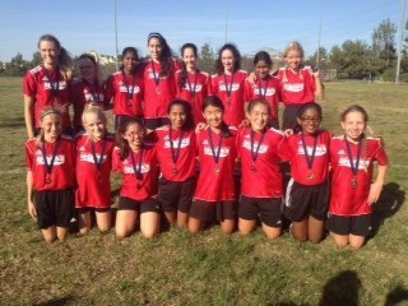 Girls Div. 3 Champion: Red Hot Chili Peppers