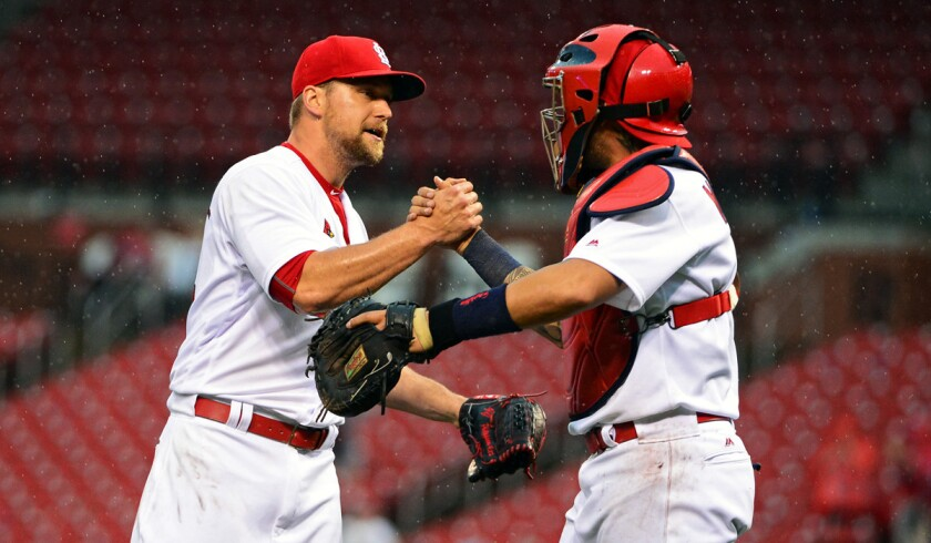 Around the horn: A left-handed compliment for Trevor Rosenthal