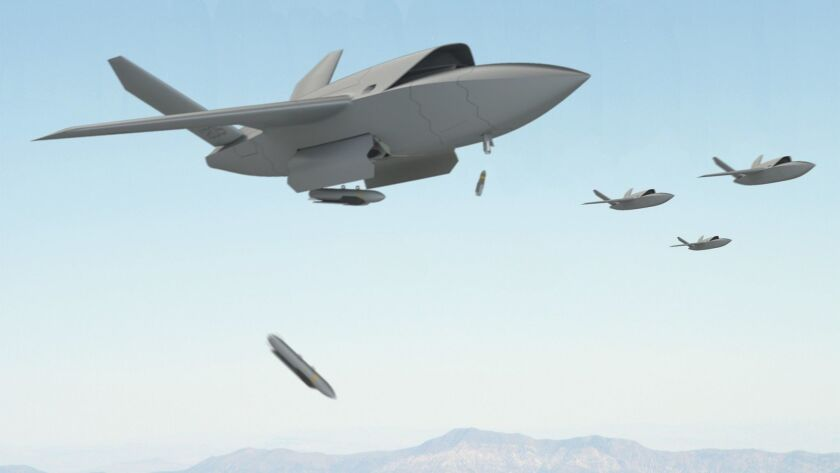 The XQ-222 Valkyrie designed by San Diego-based Kratos Defense & Security Solutions promises to beco
