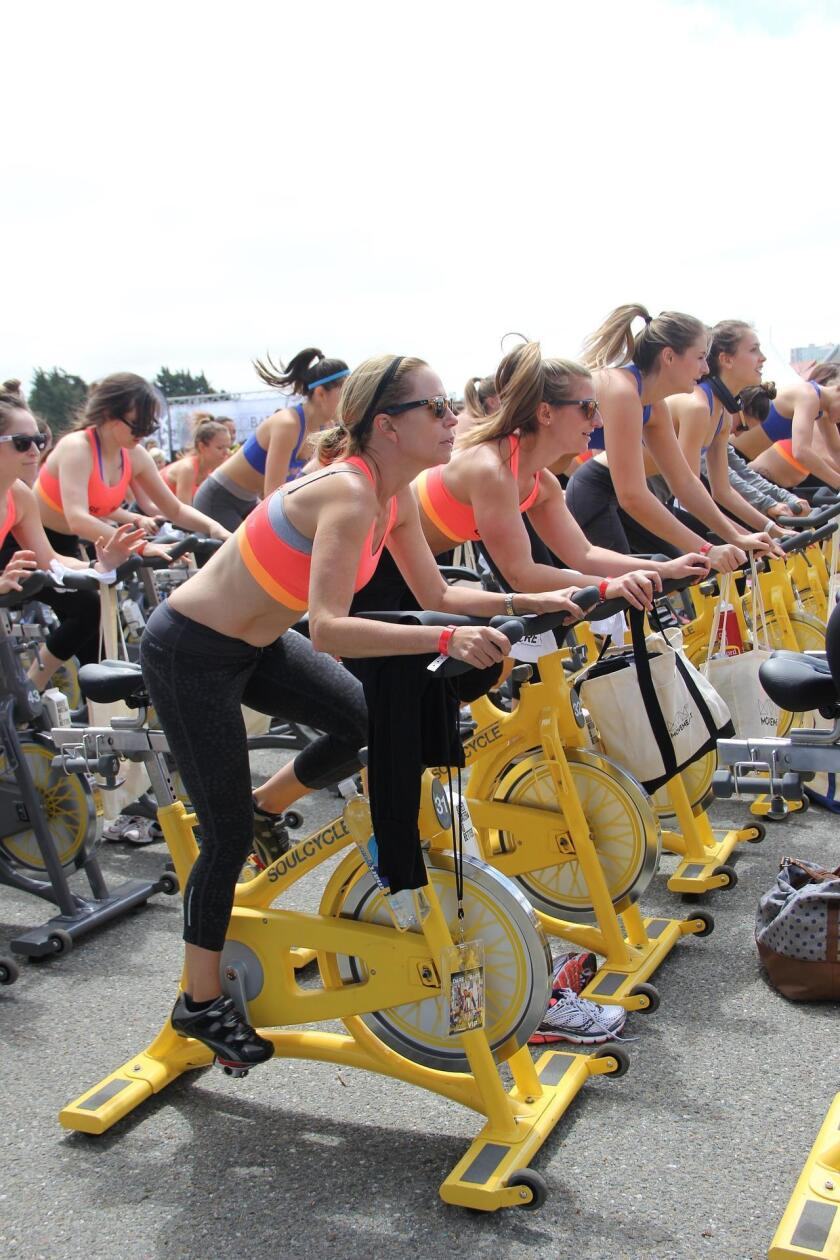 Three La Jolla fitness centers are hosting Charity Spin Rides on Saturday, Oct. 7, 2017.