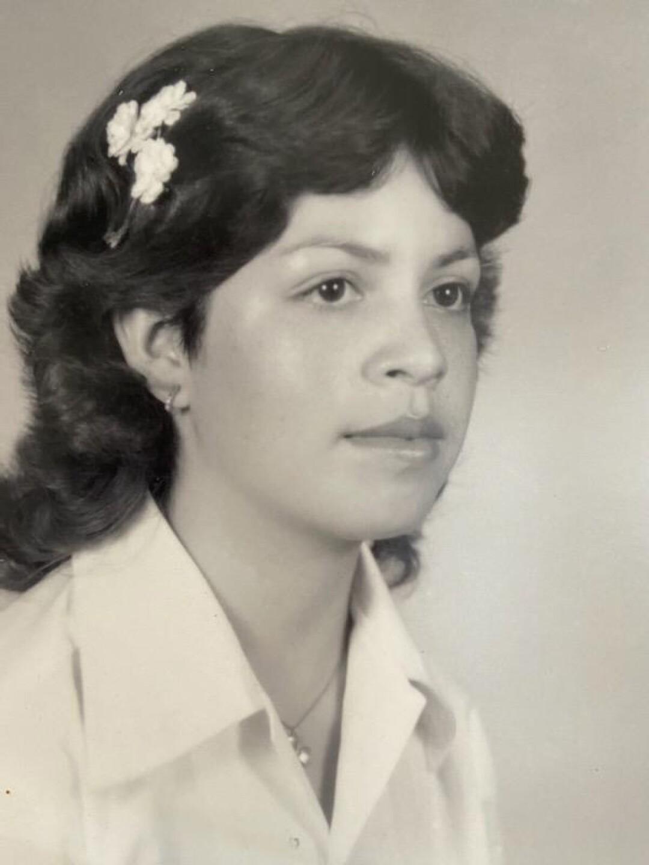 Nora Sandigo at age 15.