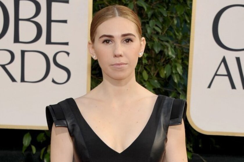 Golden Globes: Zosia Mamet would like to have a drink with ...