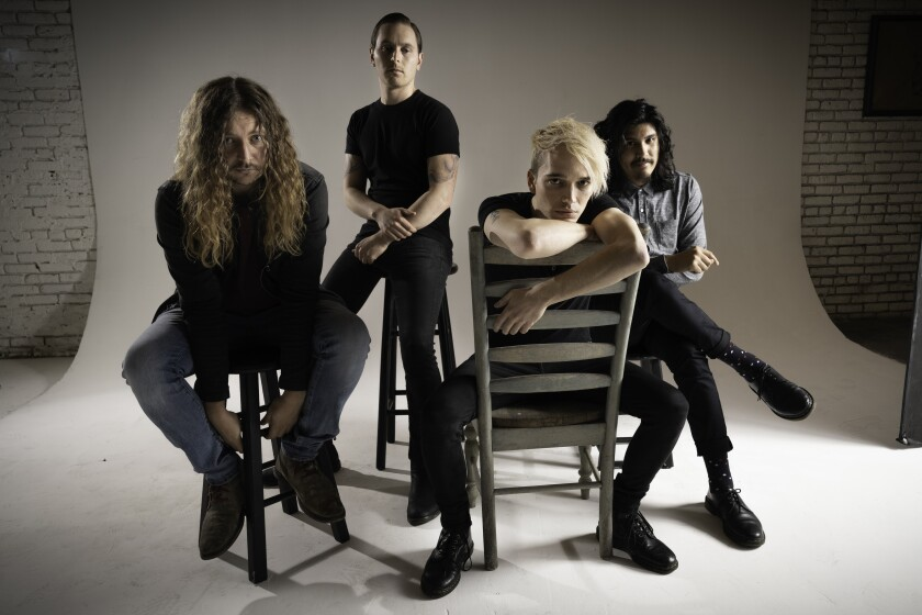 Los Angeles-based rock band Badflower will play KAABOO for the first time on Sept. 14.