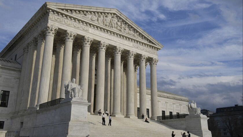 A view of the Supreme Court in Washington on March 15.