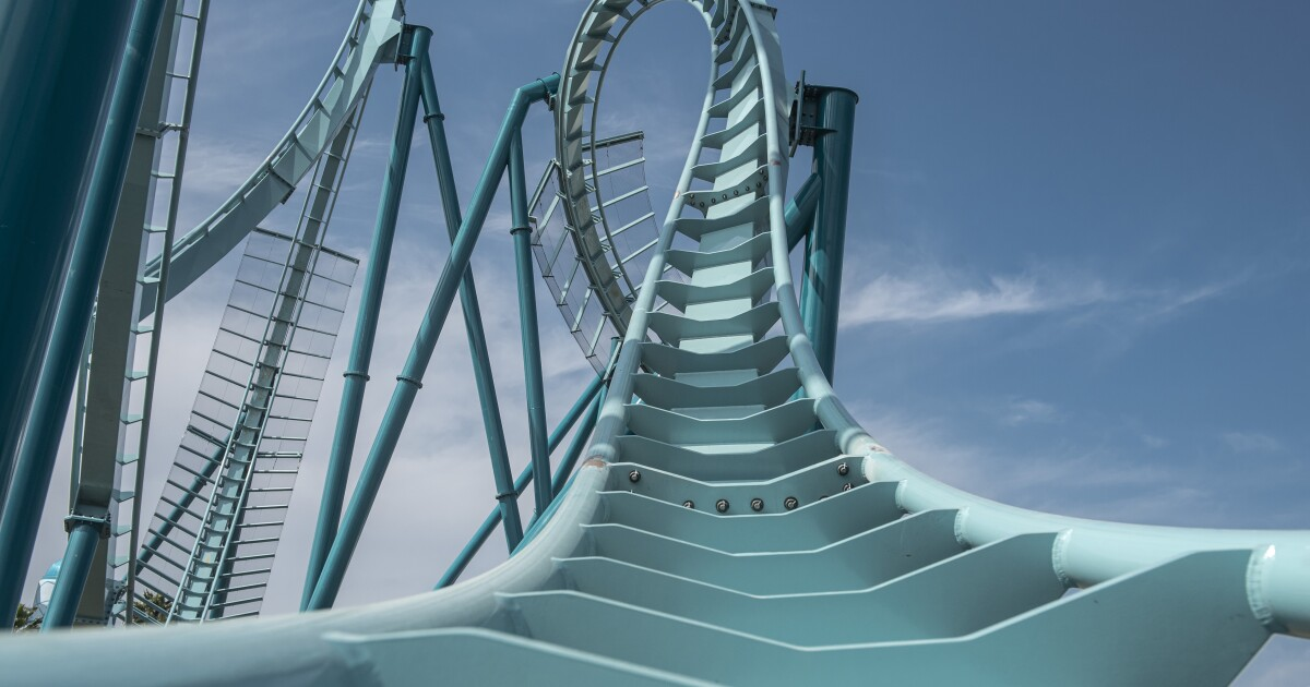 Seaworld's Emperor dive coaster is a no go this year as theme park company cuts costs amid COVID-19