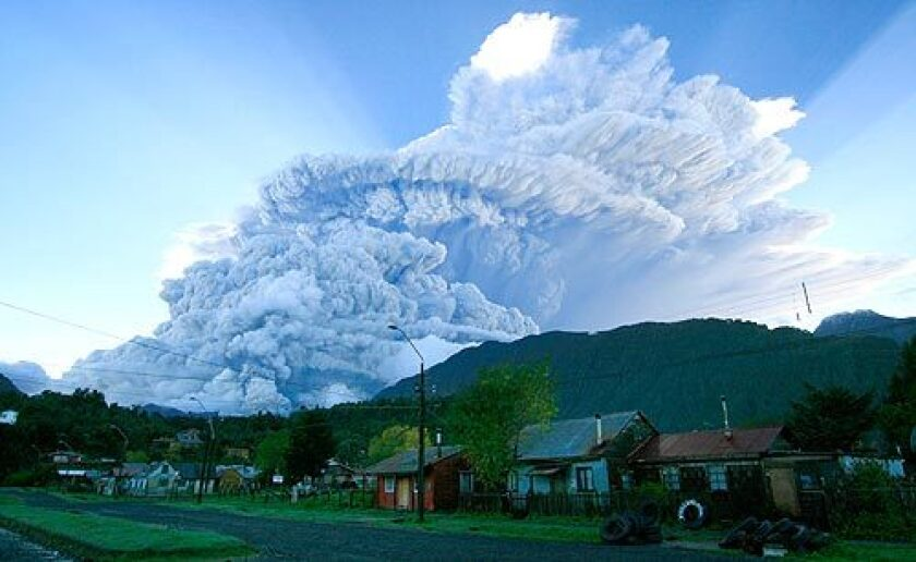 The Chaitén volcano in Chile had been dormant for thousands of years before it erupted in May 2008, forcing residents to evacuate.