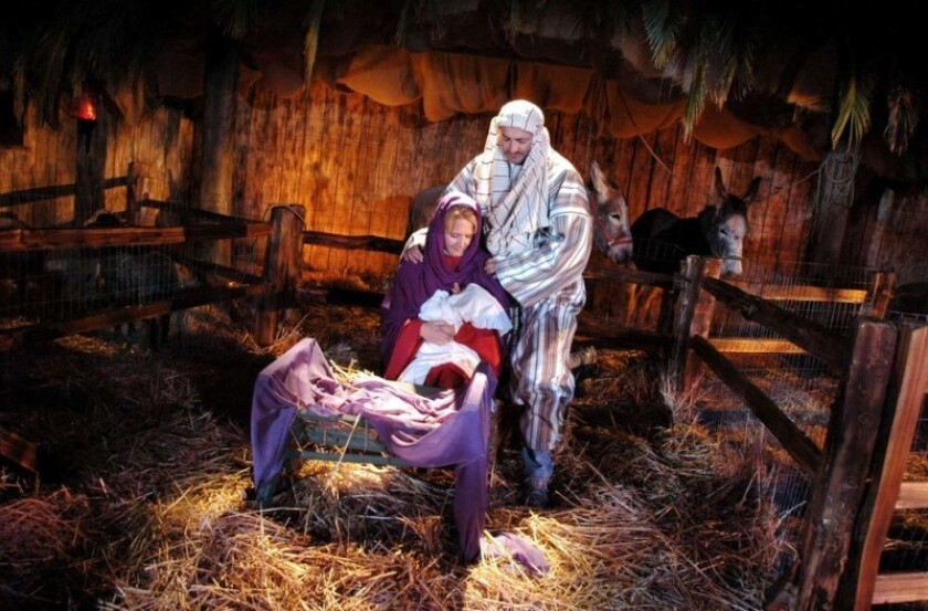 Horizon Christian Fellowship's Living Nativity will also include a marketplace with children's activities like camel rides and snow sledding.