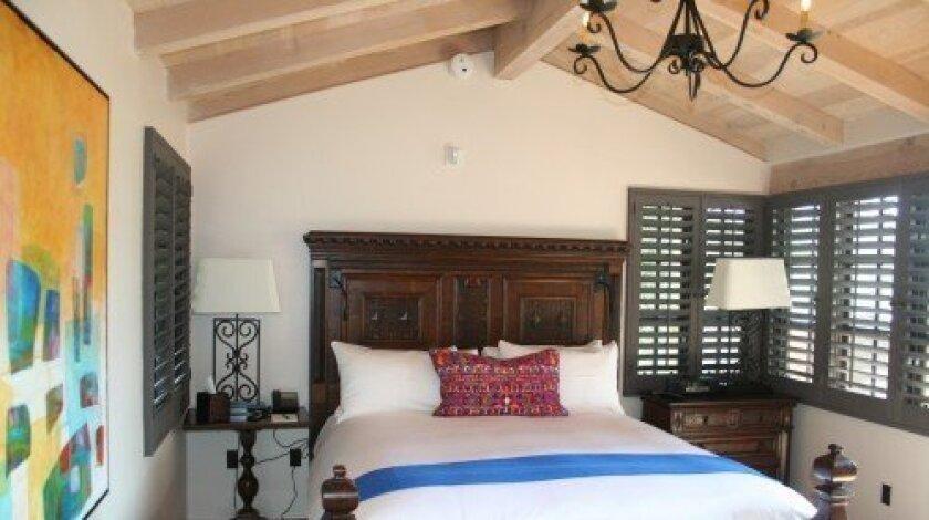 The new-look guest room (Photo/Karen Billing)