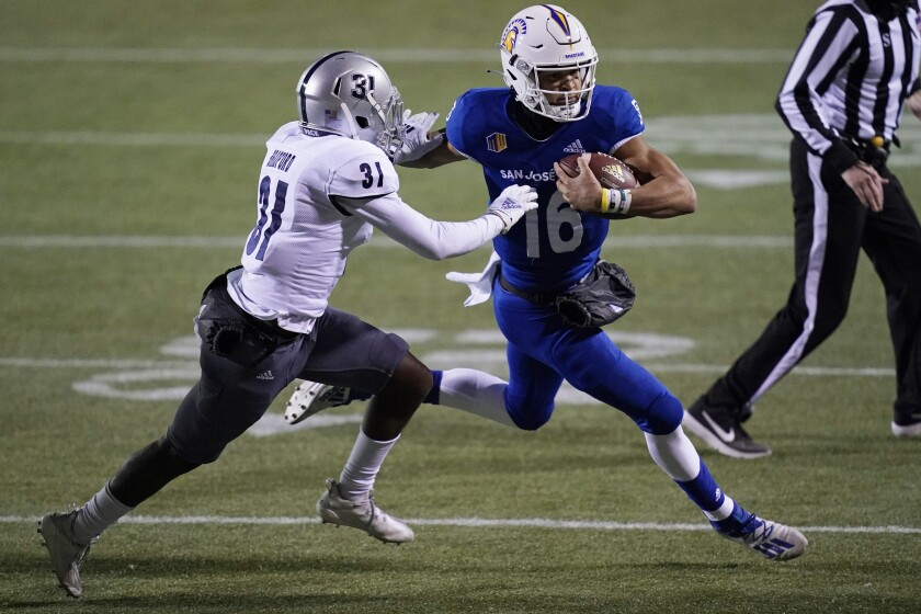 San Jose State quarterback Nick Nash is expected to start this week against San Diego State.
