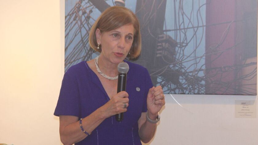 District 1 City Council member Barbara Bry introduces her draft ordinance on short-tern vacation ren