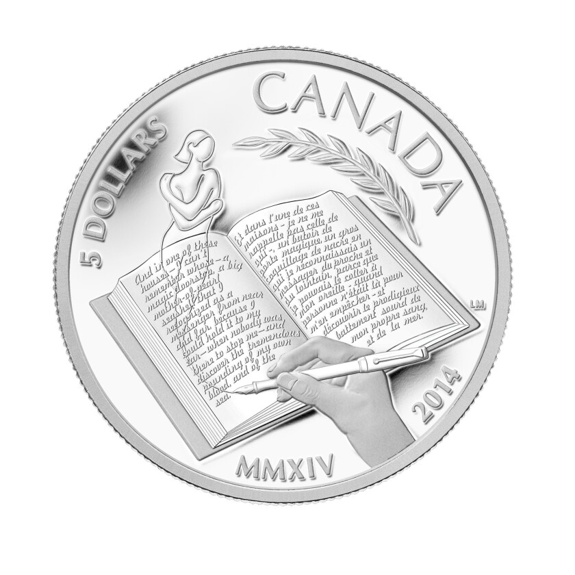 Canadian coin honors Alice Munro