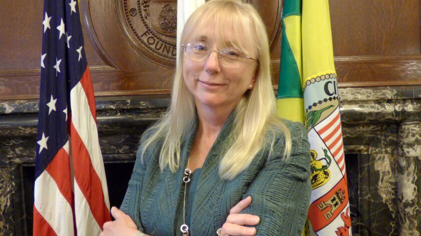 Former U.S. Atty. Eileen Decker has been appointed to the Los Angeles Police Commission by Mayor Eric Garcetti.