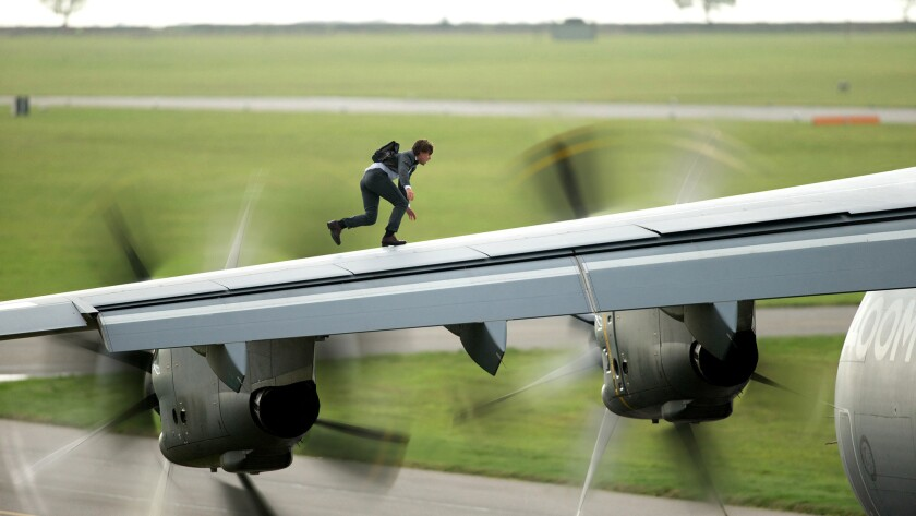 "How will the next ""MI"" top Tom Cruise's airplane stunt in ""Mission: Impossible -- Rogue Nation""?"