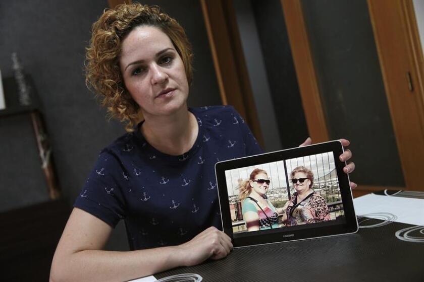 Fotografía de archivo de Raquel Garrido Santamans, hermana de Pilar Garrido Santamans. EFE/Archivo