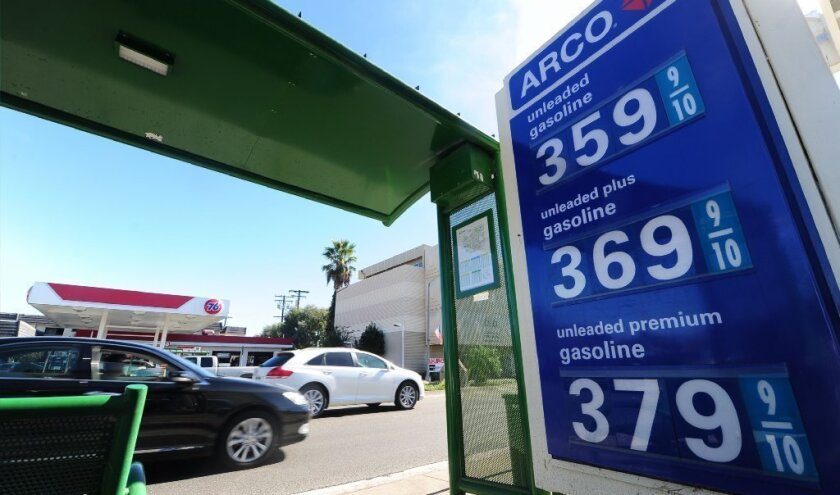 California gas prices headed higher as spring approaches
