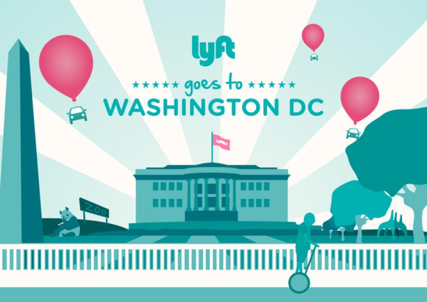 Lyft surpasses 1 million rides, expands to Washington, D.C.