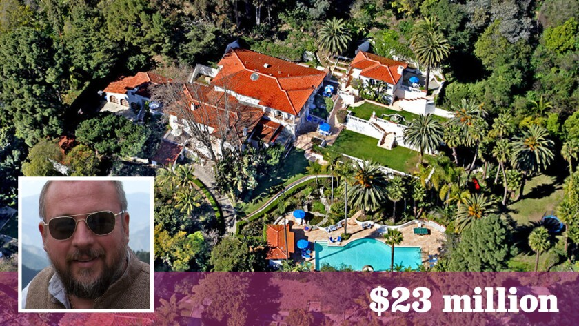 Vice Media co-founder and chief executive Shane Smith has paid $23 million for a sprawling compound in Santa Monica.