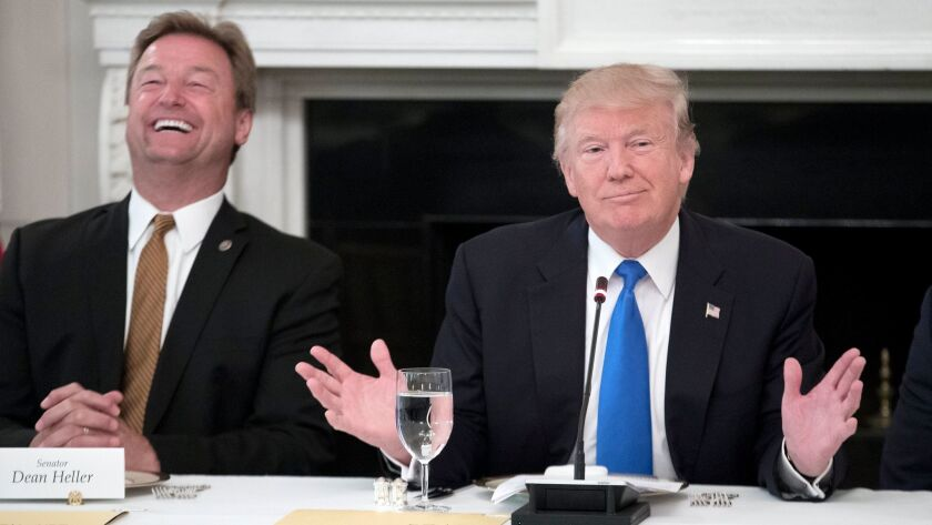 Members of the United States Congress are hosted by US President Donald J. Trump at the White House