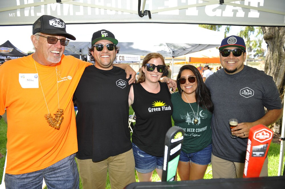 It was a sudsy Saturday in North County during the Carlsbad Brewfest on Sept. 9, 2017. (Jared Gase)
