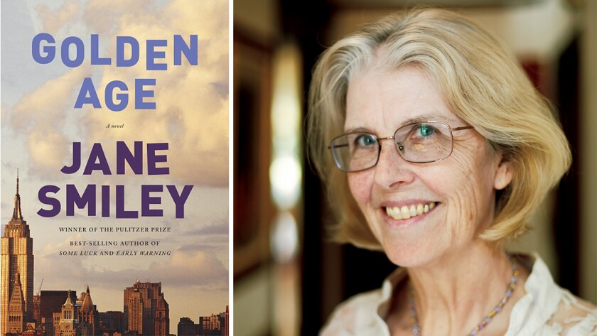 """""""Golden Age"""" and author Jane Smiley."""