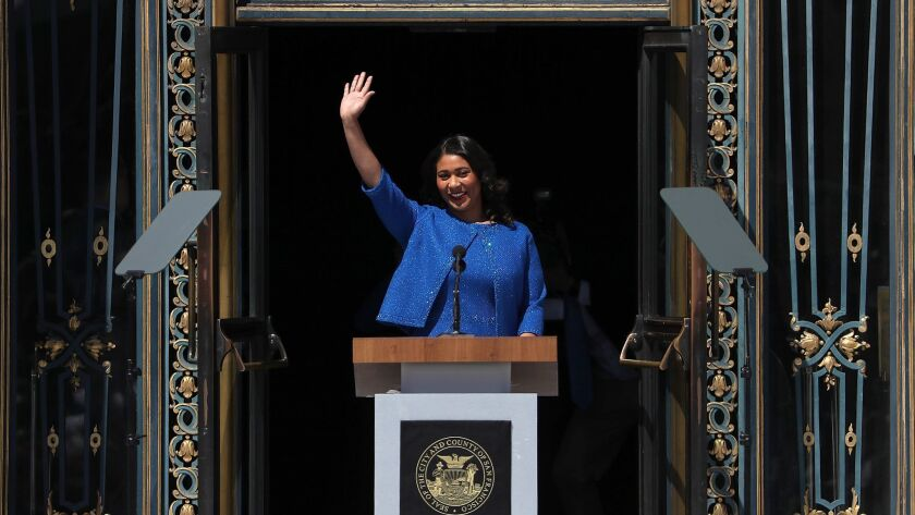London Breed Sworn In As San Francisco Mayor