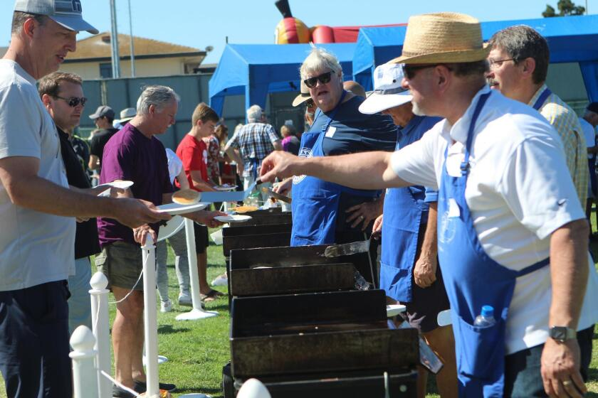 About 600 flapjacks were flipped at the Kiwanis Club of La Jolla's 55th Annual Pancake Breakfast on July 20, 2019.