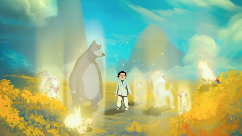 Vibrant animation in the documentary Life, Animated helps tell the story of how Owen Suskind, diagnosed with autism as a child, learned to communicate.