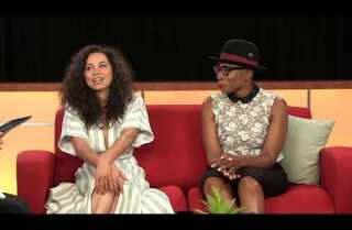 Aisha Hinds and Jurnee Smollett-Bell remember their TV heroes