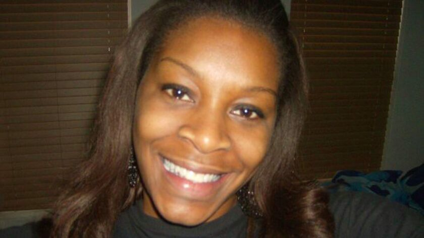 An undated photo provided by the Bland family shows Sandra Bland before her arrest and death in jail.